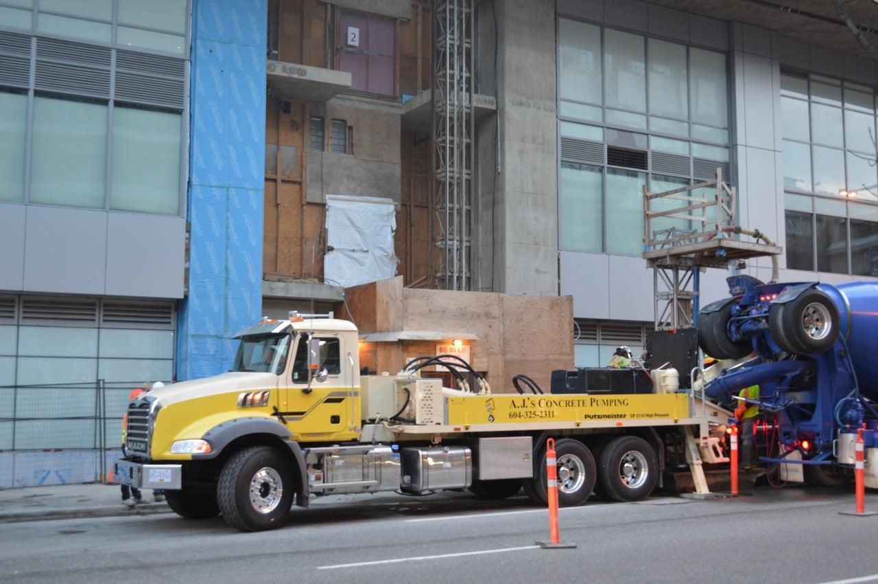 Gallery - AJ's Concrete Pumping