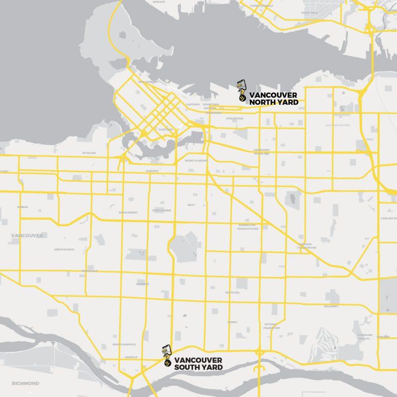 AJ's Concrete Pumping - Vancouver Yards